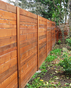 FSC Certified Western Red Cedar Fencing