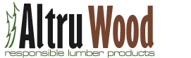 AltruCedar - FSC Certified Western Red Cedar - powered by AltruWood Logo
